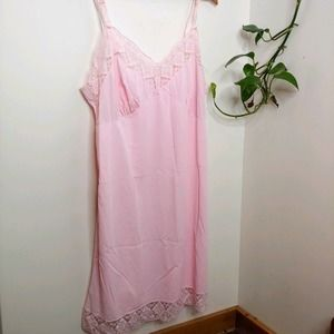 Vintage 60s Union Label Slip / Chemise, Large